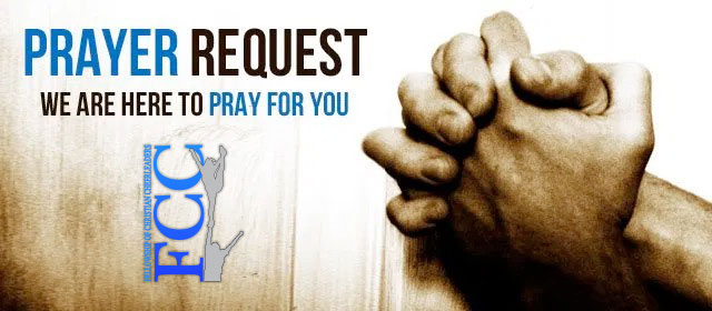 Let us pray for you today